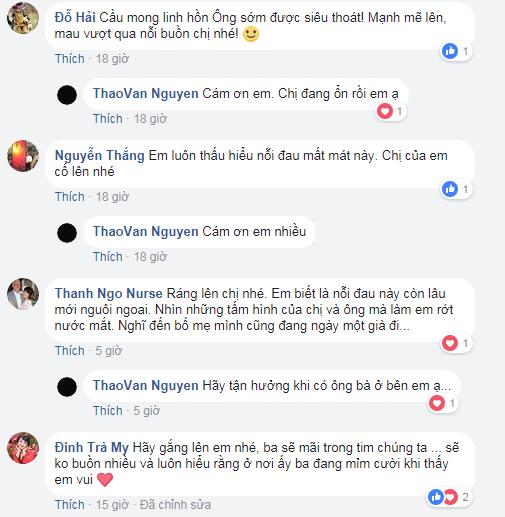 MC Thảo Vân lần đầu lên tiếng sau thời gian đau buồn vì bố qua đời ảnh 2