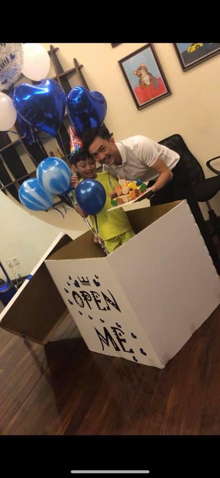 Cường Đô la đón sinh nhật bên Đàm Thu Trang và con trai ở quê nhà ảnh 3