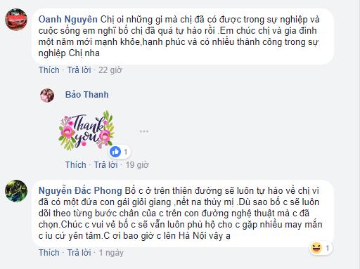 Hành động bất ngờ của Bảo Thanh với người bố đã mất khiến công chúng chạnh lòng, xót xa ảnh 3
